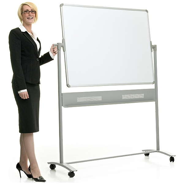 Province Mobile Revolving Dry Wipe Boards