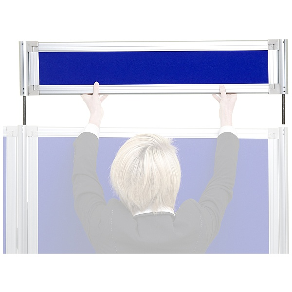 Header Panel For Giant Board - Large Format Display System