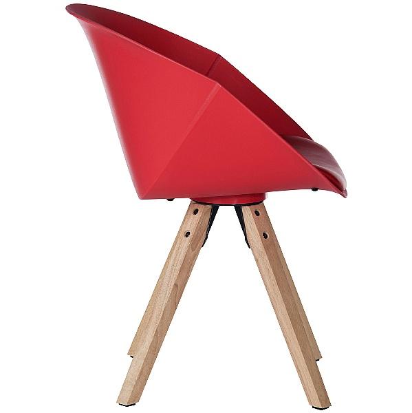 Piko Red Tub Chair