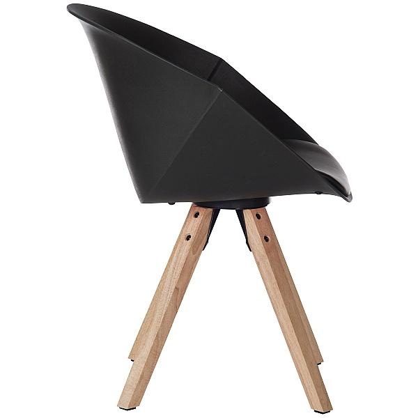 Piko Black Tub Chair