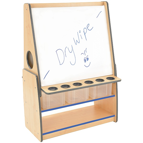 ColourEdge Tall Whiteboard Floor Easel
