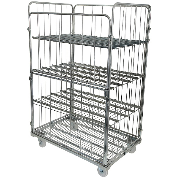 Removable Shelf For Palletower Jumbo Demountable Roll Pallets
