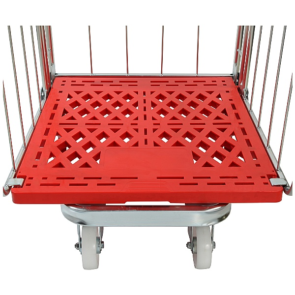 Palletower 2 Sided Plastic Base Demountable Roll Pallets
