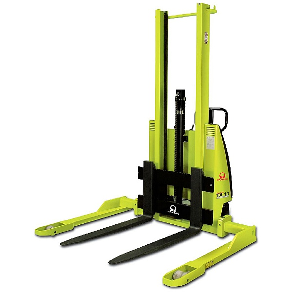 Pramac TX 10/16 Semi Electric Straddle Pallet Stackers - 1000kg Capacity