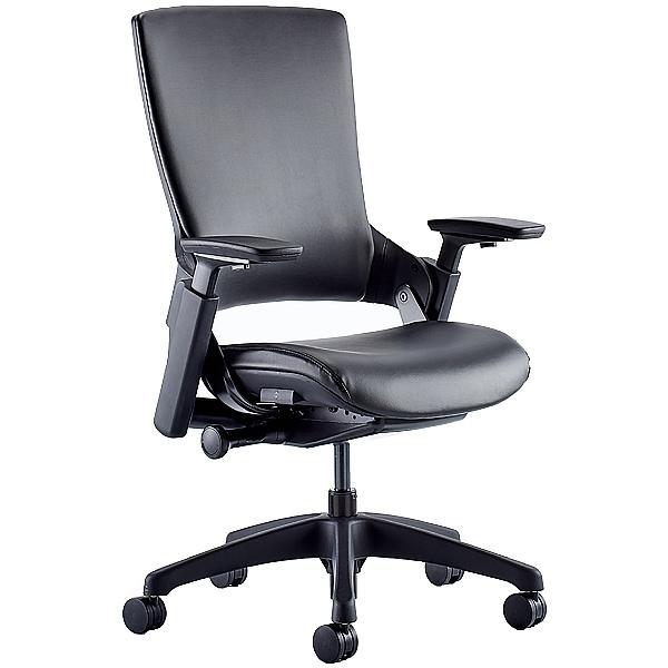 Lucas Medium Back Leather Task Chair