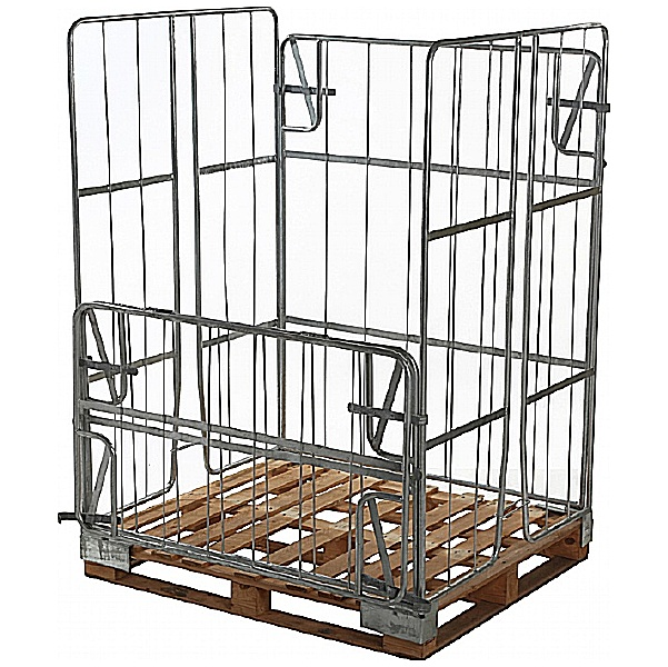 Palletower Galvanised Non-Stackable High Retention Units