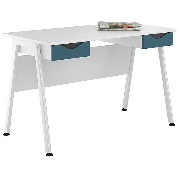 NEXT DAY Aspire Kaleidoscope Double Drawer Desks