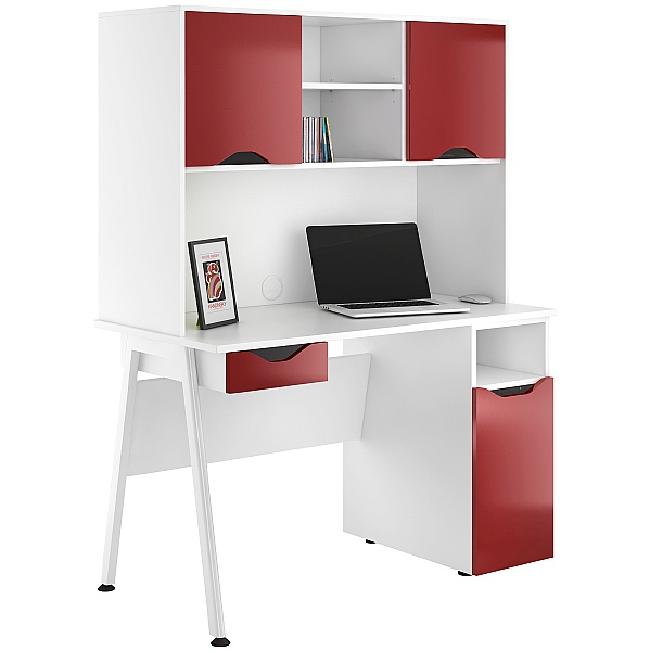 NEXT DAY Aspire Reflections Combination Desks