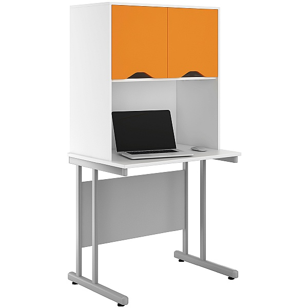 NEXT DAY Create Kaleidoscope Desks With Closed Storage