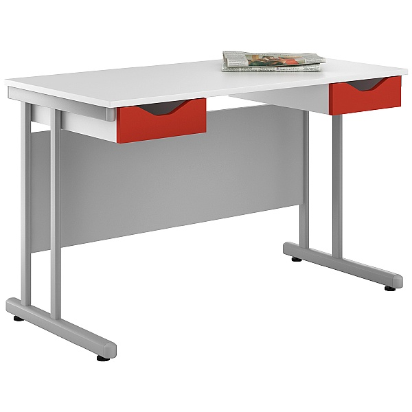 NEXT DAY Create Kaleidoscope Double Drawer Desks