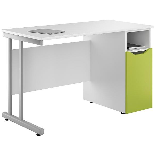 NEXT DAY Create Kaleidoscope Pedestal Desks