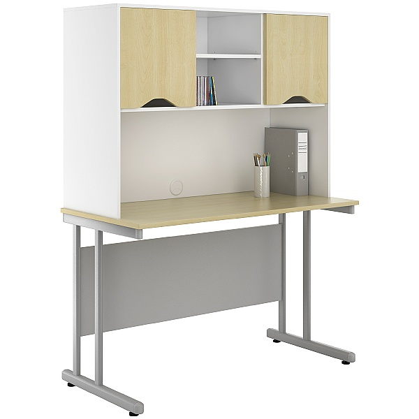 NEXT DAY Create Sylvan Desks With Closed Storage
