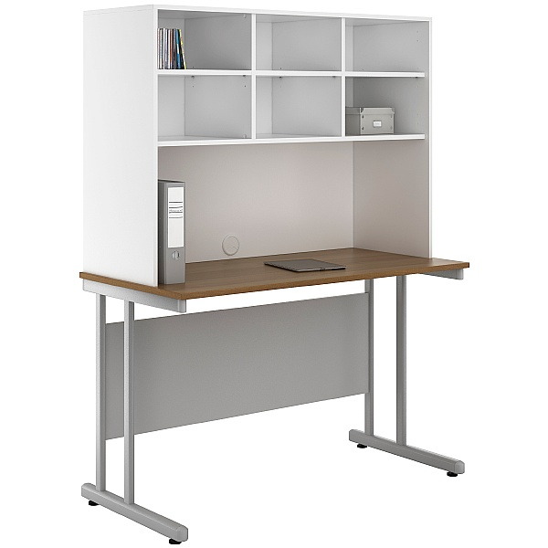 NEXT DAY Create Sylvan Desks With Open Storage
