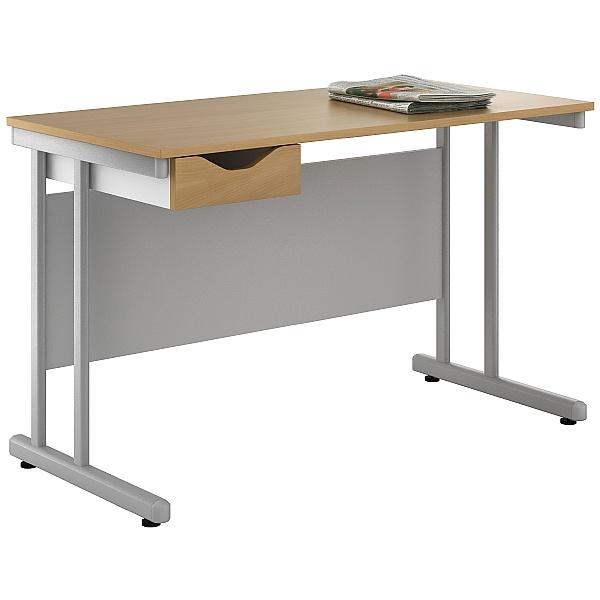 NEXT DAY Create Sylvan Single Drawer Desks