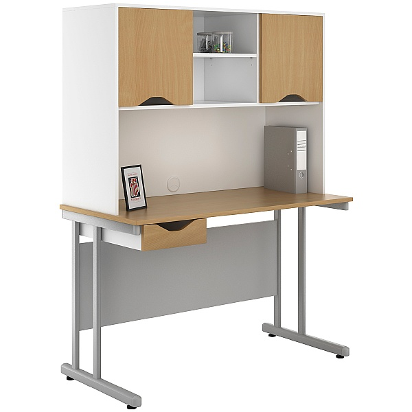 NEXT DAY Create Sylvan Single Drawer Desks With Closed Storage