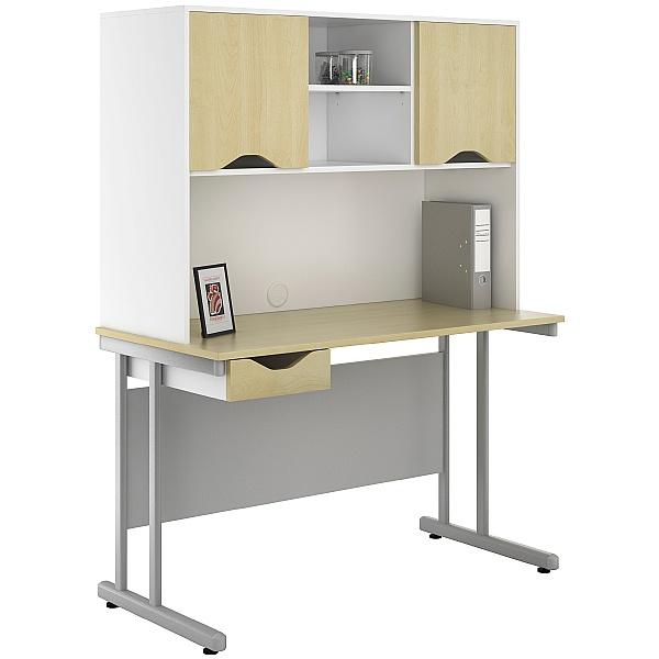 NEXT DAY Create Sylvan Single Drawer Desks With Closed Storage