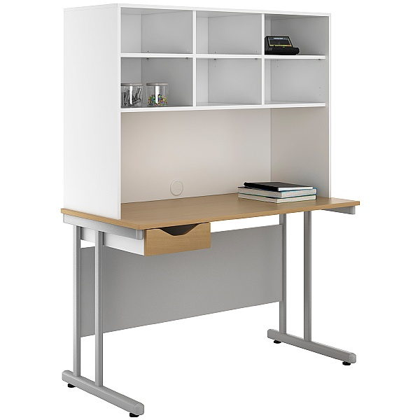 NEXT DAY Create Sylvan Single Drawer Desks With Open Storage