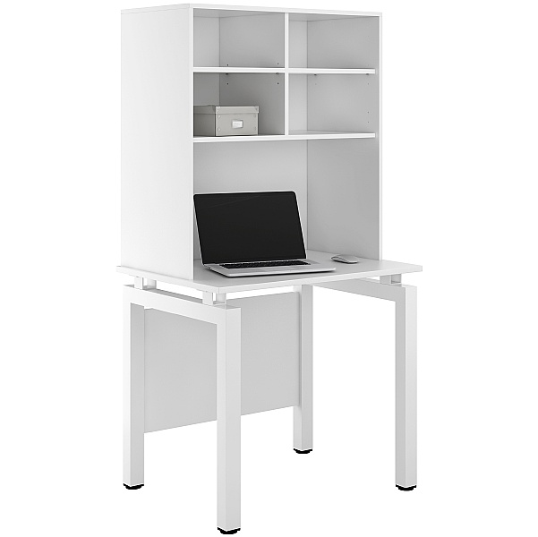 NEXT DAY Engage Kaleidoscope Desks With Open Storage