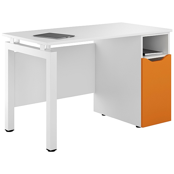NEXT DAY Engage Kaleidoscope Pedestal Desks