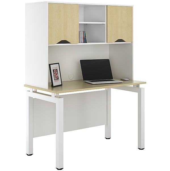 NEXT DAY Engage Sylvan Desks With Closed Storage