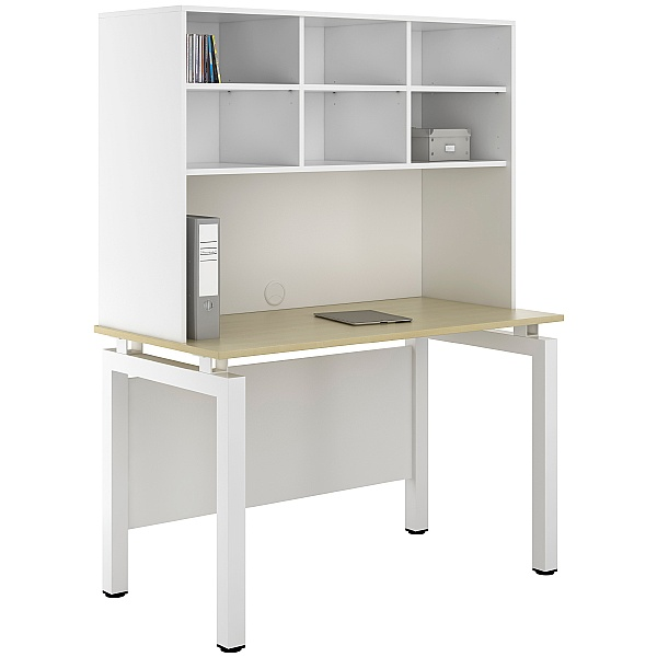 NEXT DAY Engage Sylvan Desks With Open Storage