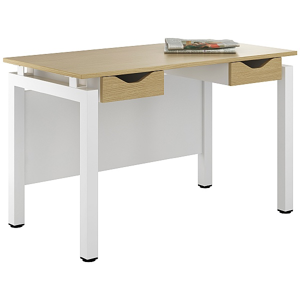 NEXT DAY Engage Sylvan Double Drawer Desks