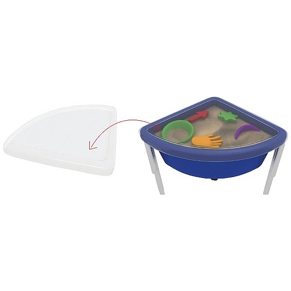 Top for Quarter Circle Play Tub