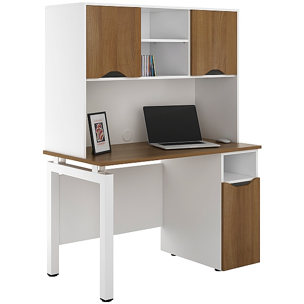 NEXT DAY Engage Sylvan Pedestal Desks With Closed Storage