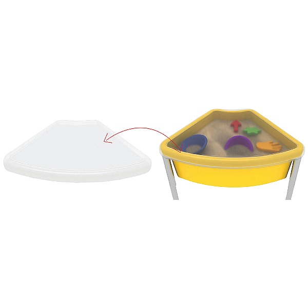 Top for Fan Shaped Play Tub