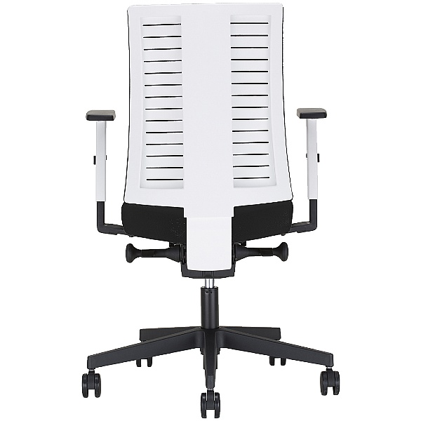 Navigo Fabric Task Chair White