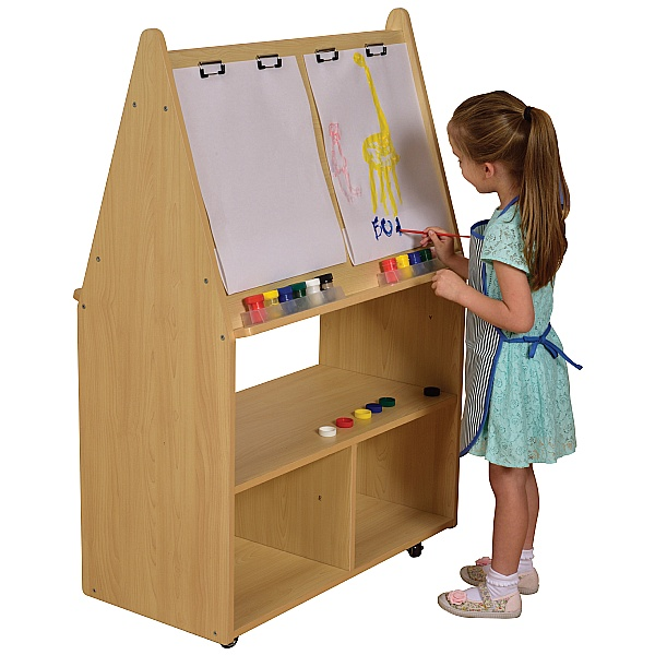 Wisdom Double Sided Wooden Easel