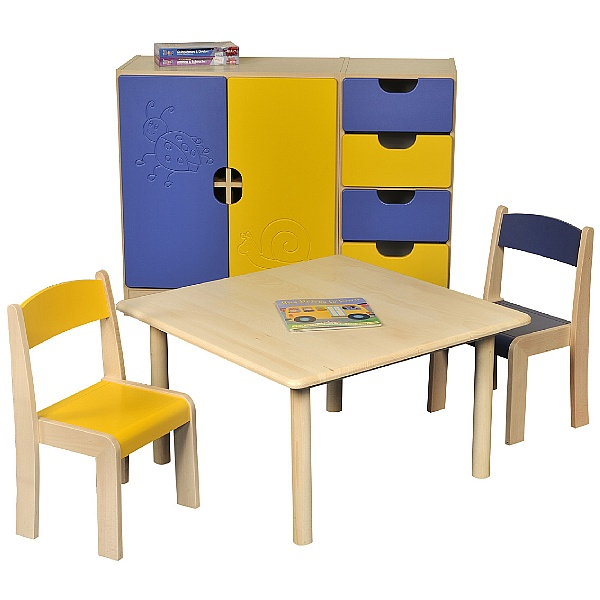 Square Classroom Writing Table