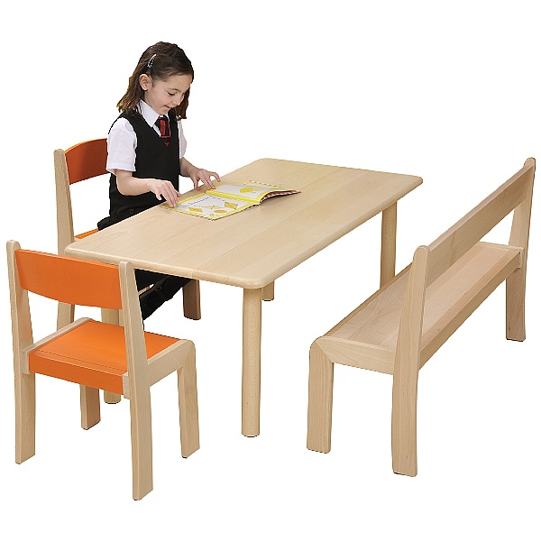 Stackable Classroom Bench (Pack Of 3)