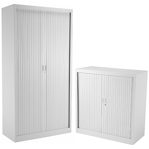 Commerce II Steel Tambour Cupboards