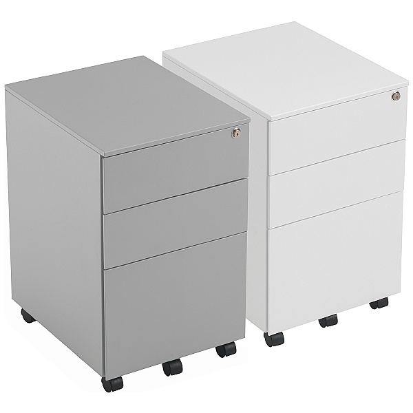NEXT DAY Commerce II Steel Mobile Pedestals