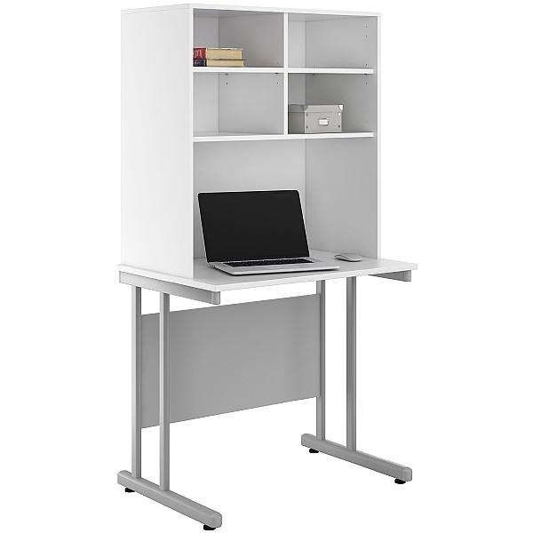 NEXT DAY Create Kaleidoscope Desks With Open Storage