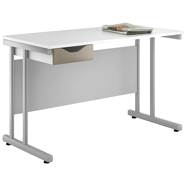 NEXT DAY Create Reflections Single Drawer Desks