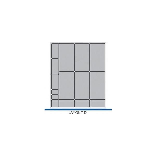 Bott Cubio Drawer Cabinets 650W x 750D Plastic Boxes