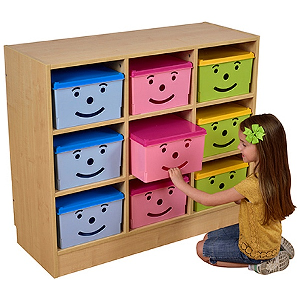 Happy Bin Storage Set - 9 Bins
