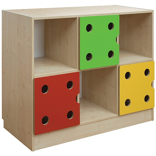 Domino 3 Door Storage Unit
