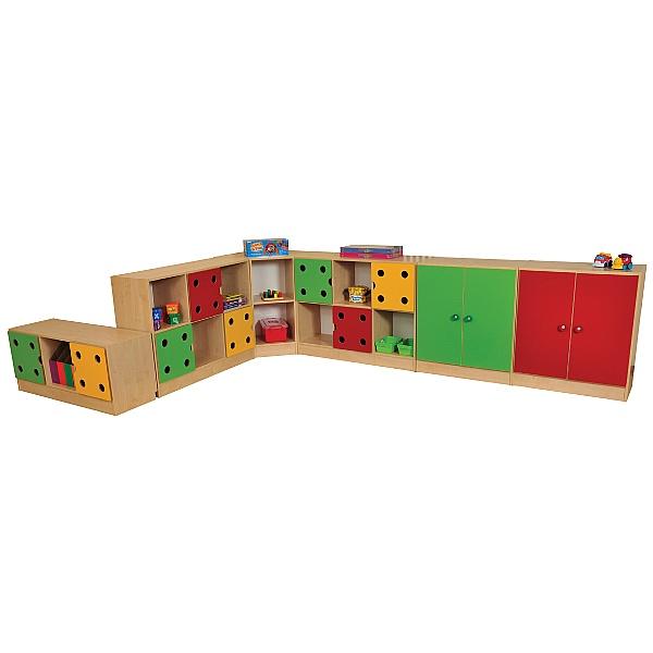 Domino Corner Storage Unit