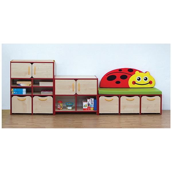 Nature Storage Set - Red Ladybird