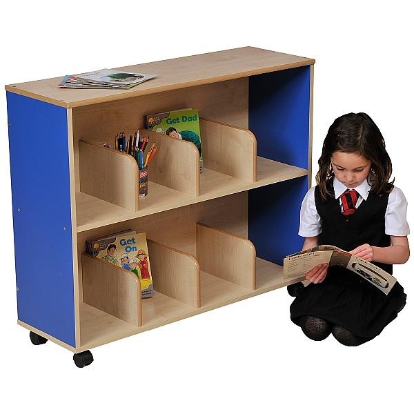 Small Children's Bookcase - Blue
