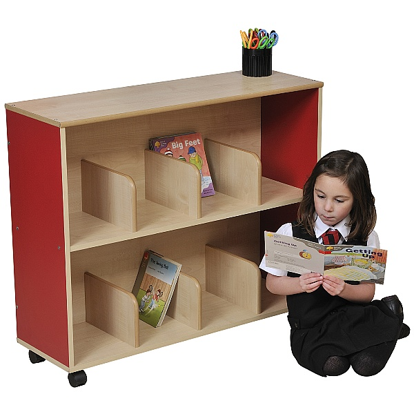 Small Children's Bookcase - Red