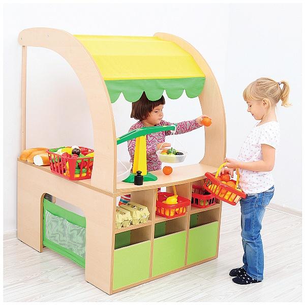Corner Market Stall