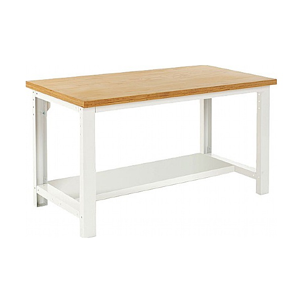 Bott Cubio Framework Benches - Bench With Half Depth Shelf