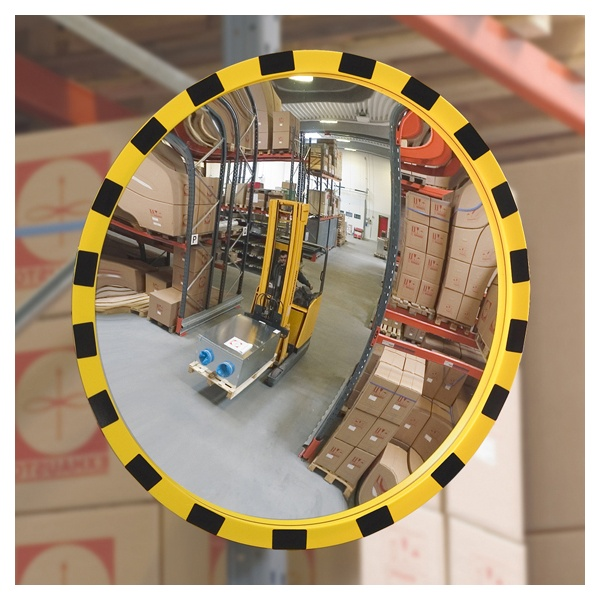 View Minder Round Industrial Mirrors