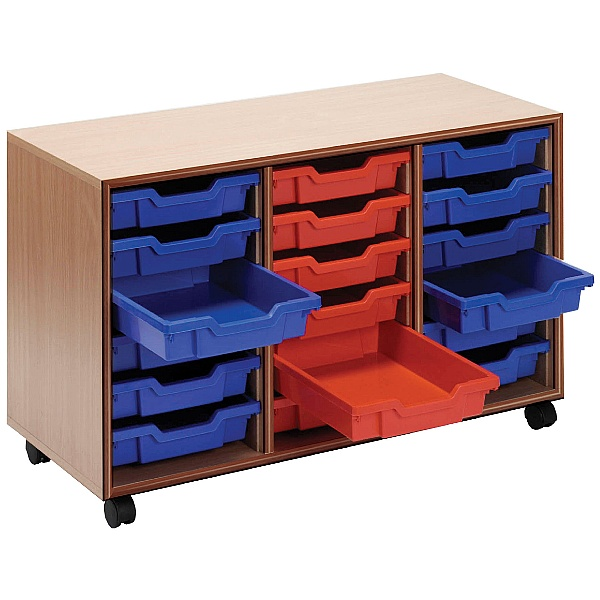 Essentials Mobile 18 Tray Storage Units