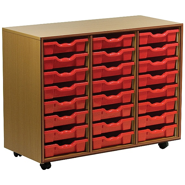 Essentials Mobile 24 Tray Storage Units
