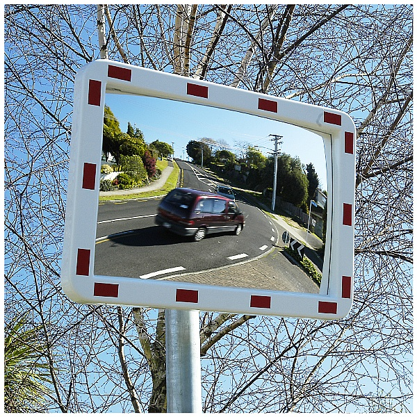 Rectangular Traffic Mirror